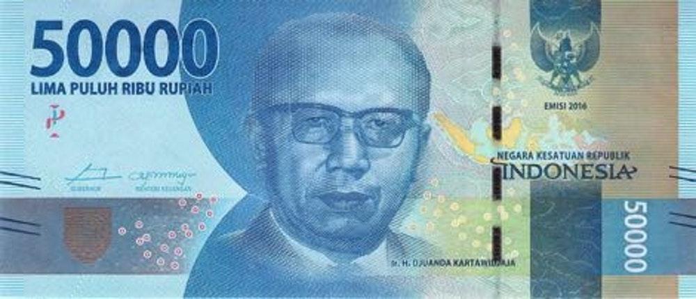 IR. H. DJUANDA KARTAWIDJAJA Dalam Lembar IDR 50.000