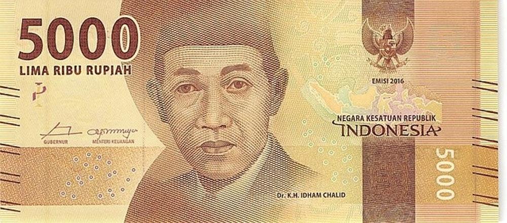 Dr. K.H. Idham Chalid Dalam Lembar IDR 5.000